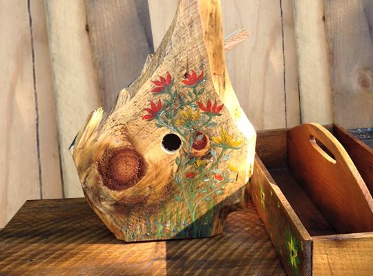 Custom Birdhouse only $35.00