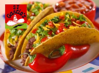 Save 10% on your Food bill on Wednesdays at SJ Garcia's