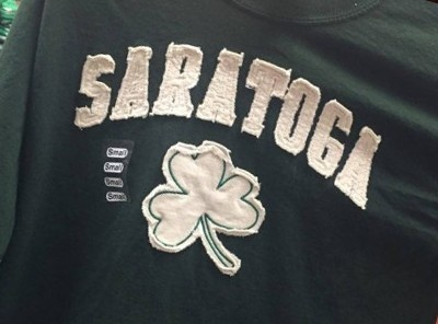 $5.00 OFF Saratoga Shamrock Tee at Celtic Treasures