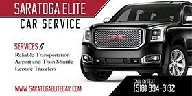 Saratoga Elite Car Service