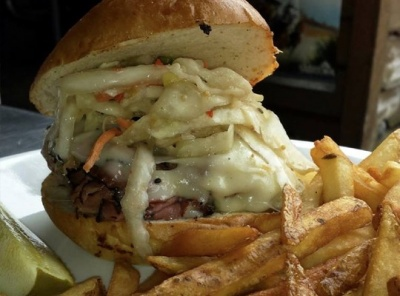 Save $5.00 on Lunch or Dinner at Bailey's Cafe
